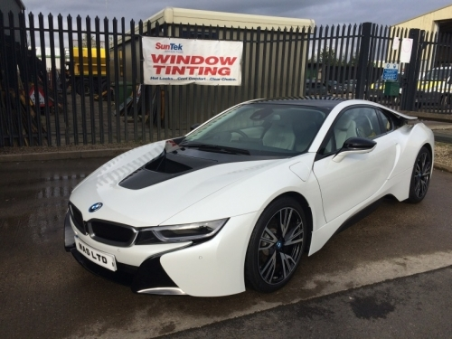 BMW I8 - BEAUTIFUL CAR!
