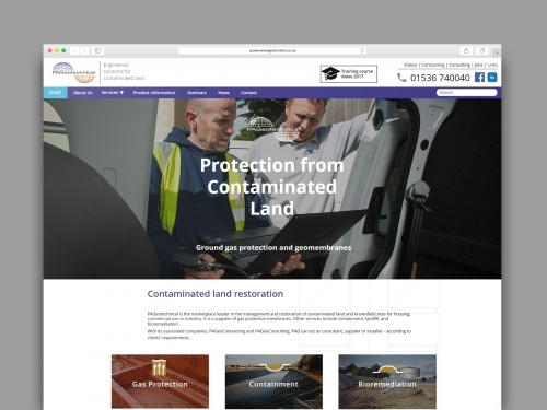 Pageotechnical Website Design - Collab