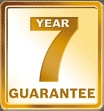 WORCESTER SI AND CDI BOILERS COMES WITH A 7 YR PARTS AND LABOUR WARRANTY