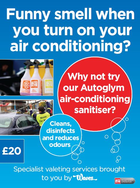 Air Conditioning sanitiser