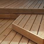 Completed Decking in Greasby Merseyside