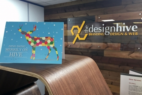 The Design Hive Christmas Card Design and Printing