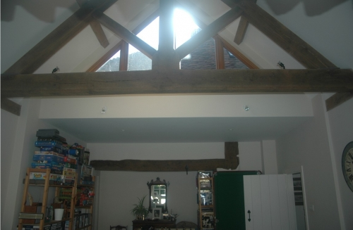 An extension  / remodelling project in a Listed Building in Midhurst