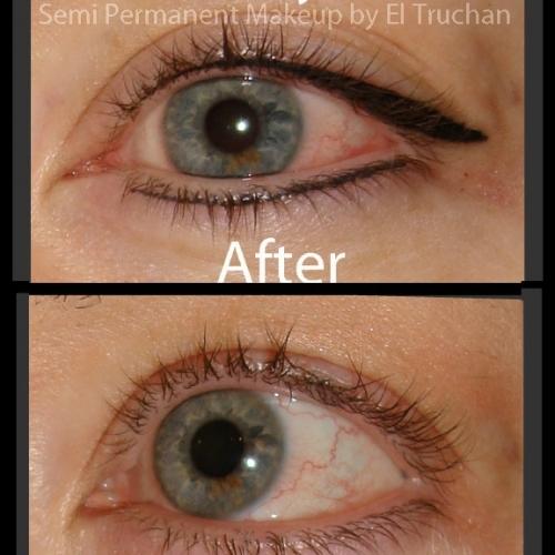 Latino Eyeliner Semi Permanent Makeup By El Truchan CPCP @ Perfect Definition