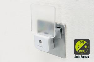 Daylight Auto Sensor Night Light 0.6W (UK 3-Pin plug in) LED Lamp