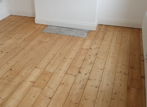 Natural Pine Floorboards