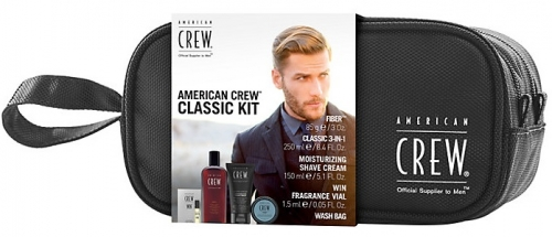 American Crew Classic Kit zip bag