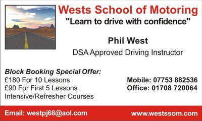 Driving lessons in romford