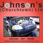 Johnson's Churchtown Ltd - garage services