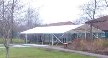 9m x 15m roof only for a Corporate hire Marquee Hire Peterborough