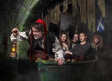 Grerat deals on Edinburgh Dungeon tickets at CityXplora