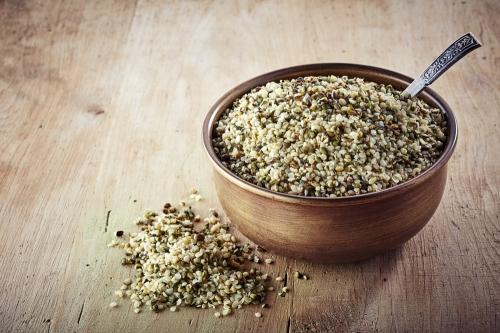 Premium Raw Shelled Hemp Seeds