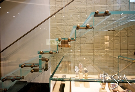 Rolex staircase by Bisca
