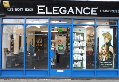 Elegance hairdressers unisex in southampton for A touch of elegance salon kauai