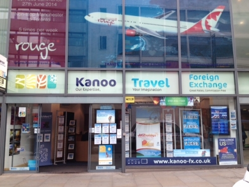 kanoo travel foreign exchange bureau de change in manchester the sun