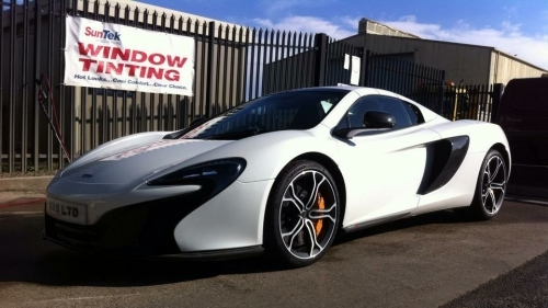 MACLAREN - REGULAR CUSTOMER FOR A DETAIL WASH.