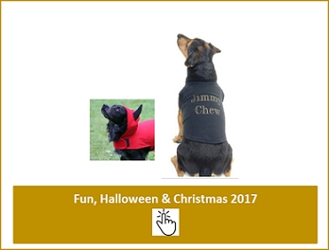 Dog Fancy Dress - Seasonal T-Shirts, Halloween and Christmas Clothes