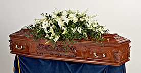 Last Supper Coffin