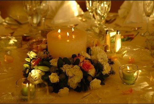 candle flowers