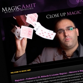 Magicamit Website Design