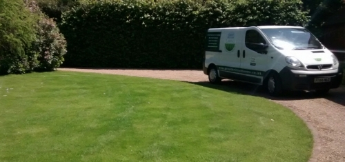 Oxted Customer Lawn