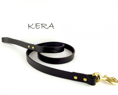 Luxury Dog Lead in Black
