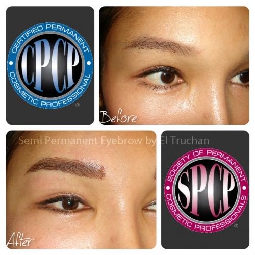 3D Hairstroke Semi Permanent Eyebrows By El Truchan @ Perfect Definition