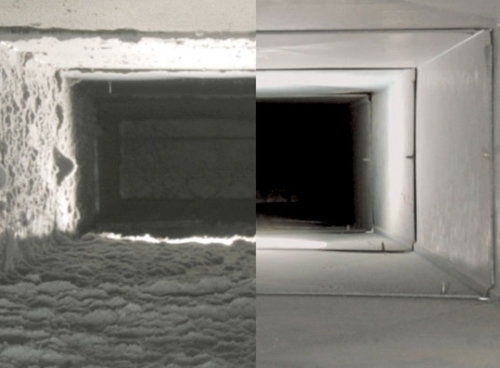 Ducts Befor And After