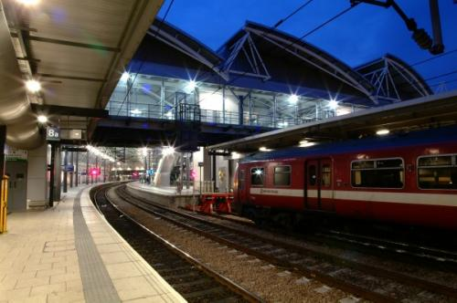 Leeds Station - roof and platform refurbishement