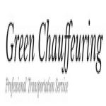Green Chauffeuring