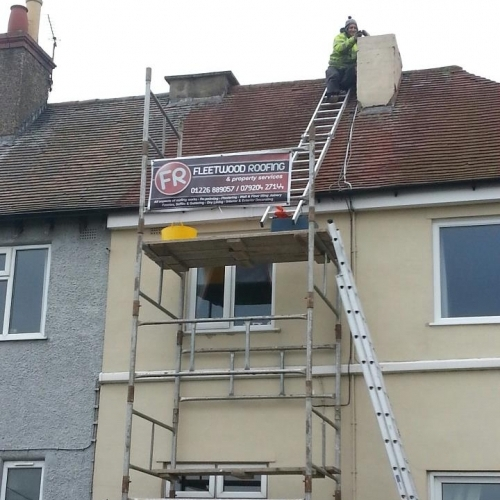 Chimney Stack Removel
