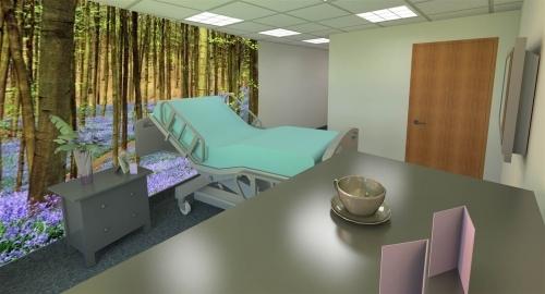 Hospital Ward Extension Room Visual