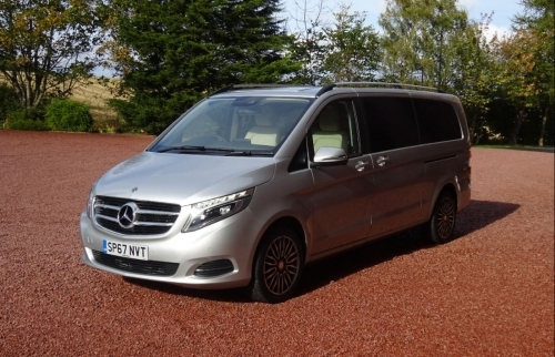 2017 Mercedes V Class Luxury People Carrier (MPV)