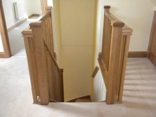 Wooden Stairways