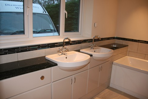 Bathroom vanity tops in marble and granite. Vanity tops Farnham Surrey, Bathroom Counter top Guildford