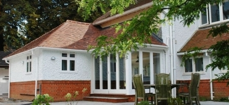 """An extension project on a """"period"""" house in Farnham"""