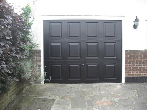 Garage Door after in Orpington