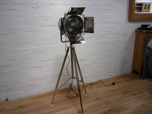 Studio style large spotlight telescopic tripod - h164cm