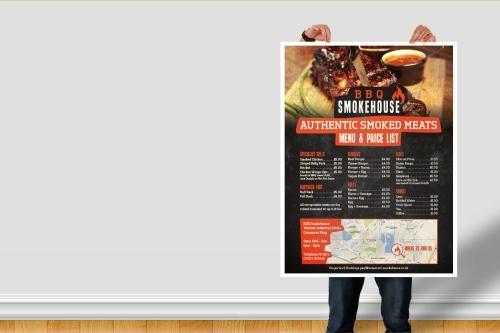 Somerset Smokehouse Price List Design