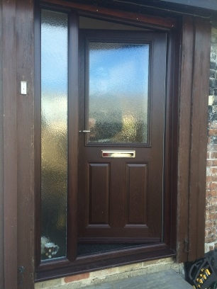 Rosewood door and side panel in stowmarket