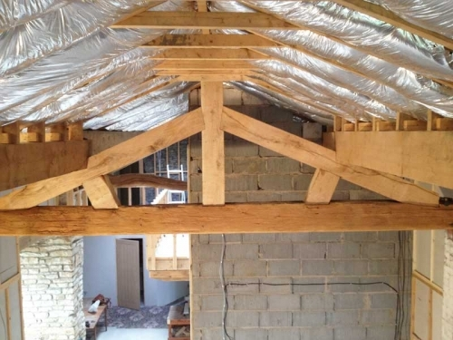Traditional Roof Truss Replacement in Clitheroe