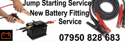 Jump Start, Battery Fitting,