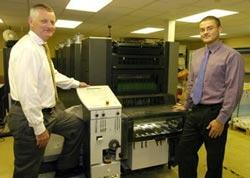Tony and Michael Edmonds, Managing and Sales Directors