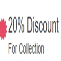 20% Discount For Collection