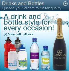 Personalised Promotional Drinks and Sports Bottles