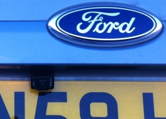 rear camera on Ford Focus