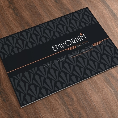 Emporium Property Brochure: Logo Design, Floorplans, Artwork, CGI's, Photography & Copywriting