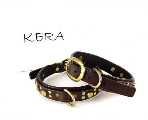 Luxury Dark Brown Dog Collars