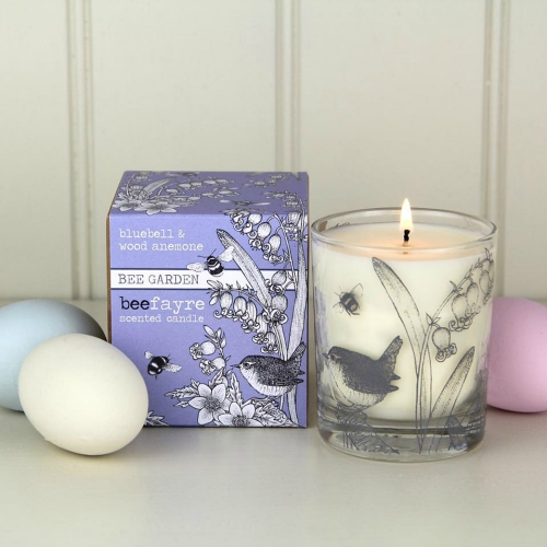 Bluebell & Wood Anemone Candle