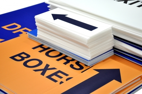 Correx Signs | Printed Direct to Board